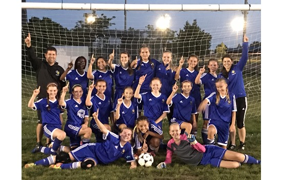 Kingston Clippers GU14 Win Division